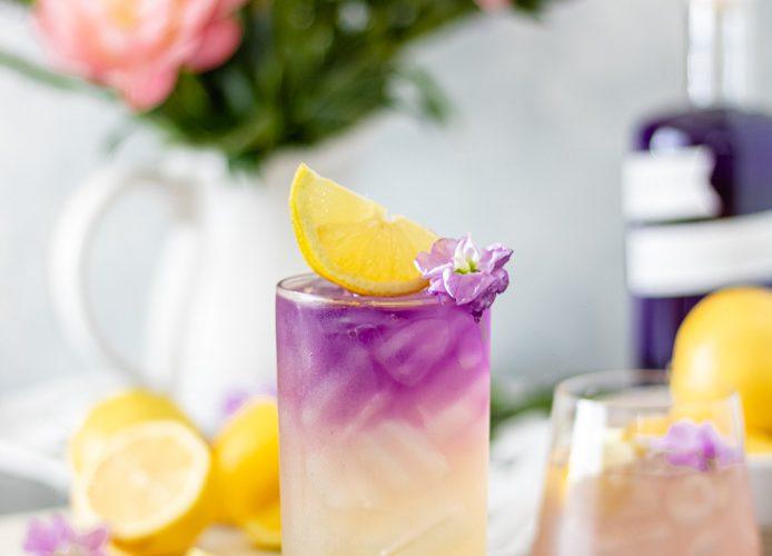 Honey Lavender Gin Lemonade (with Empress)